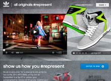 adidas Originals: #Represent Campaign Facebook app