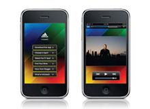 adidas miCoach: Mobile app UI